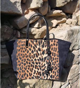 Sac cabas léopard modèle...